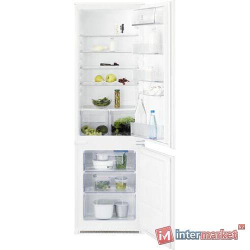 Встраиваемый двухкамерный холодильник Electrolux RNT 3LF 18S