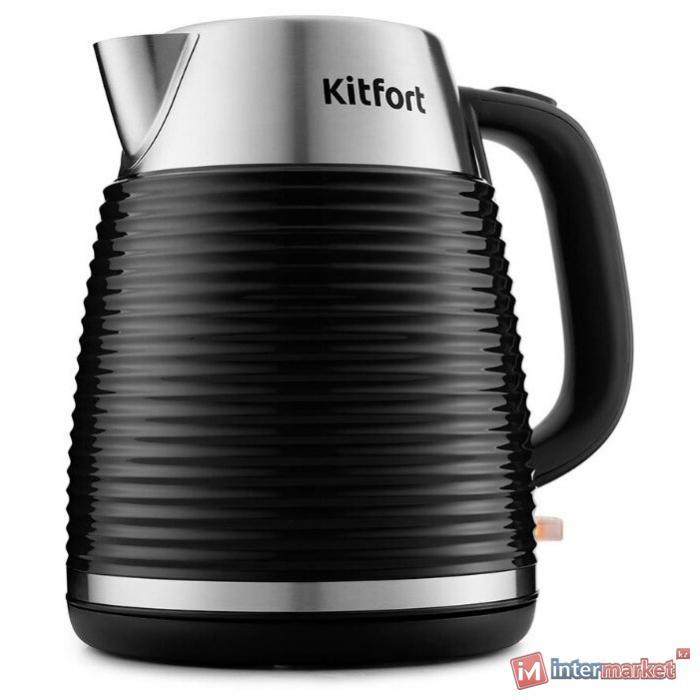 Электрический чайник Kitfort KT-695-1 черный