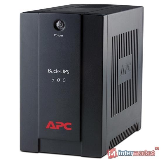 ИБП APC by Schneider ElectricBack-UPS 500VA AVR IEC