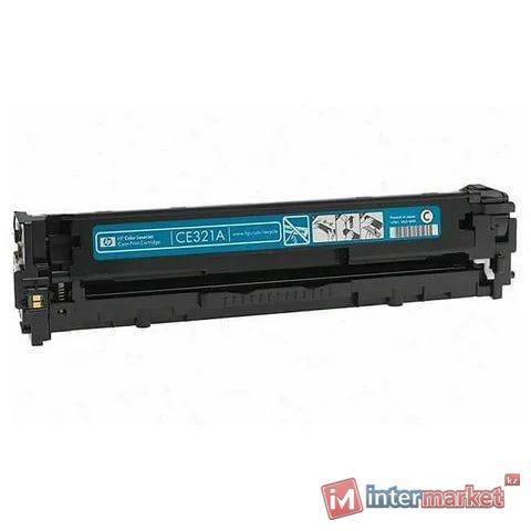Картридж, Europrint, EPC-321A (CE321A), Синий, Для принтеров HP Color LaserJet Pro CP1525/CM1415, 1300 страниц.