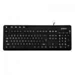 Проводная клавиатура A4tech KD-126 White