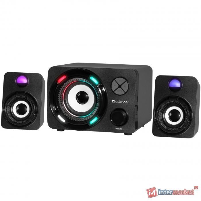 Компактная акустика 2.1 Defender G11 черный