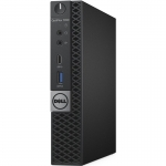 Компьютер Dell OptiPlex 7050 (Micro /Intel Core i5 7500T 2,7 GHz/4 Gb /500 Gb/No ODD /Graphics HD630 256 Mb /ATX 65W /Linux /VGA port/6xVertical Stand)