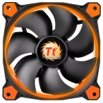 Кулер для кейса Thermaltake Riing 14 LED Orange, Чёрный