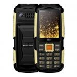 Мобильный телефон BQ-2430 Tank Power Чёрный+Золотой /