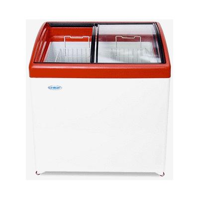 Морозильный ларь Снеж МЛГ-250 (красный)