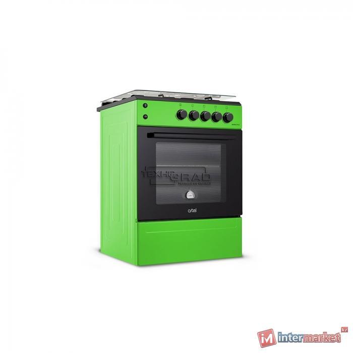 Плита газовая электрическая Artel APETITO 10-E, зеленый
