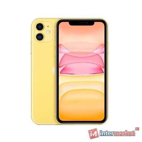 Смартфон Apple iPhone 11 256GB Yellow (MWMA2)