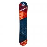 Сноуборд Net, красно черный, ростовка 170